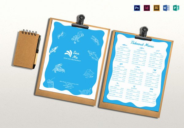 Take Out Menu Design Lovely 20 Take Out Menu Templates – Free Sample Example format