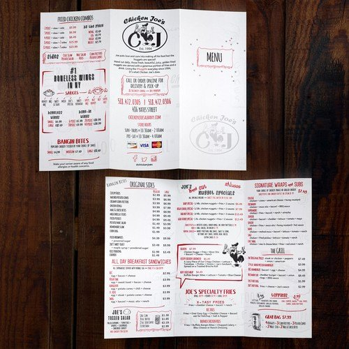Take Out Menu Design Luxury Redesign Take Out Menu