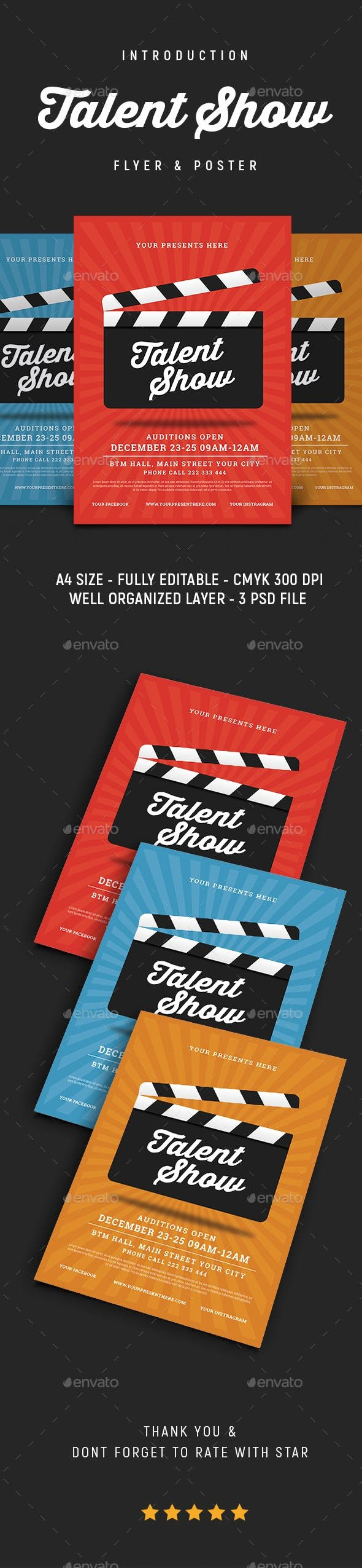 Talent Show Flyer Template Beautiful Talent Show Flyer by Lilynthesweetpea