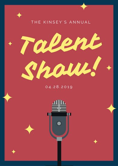 Talent Show Flyer Template Free Best Of Customize 127 Talent Show Flyer Templates Online Canva