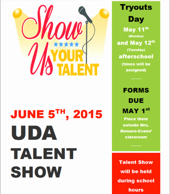 Talent Show Flyer Template Free Fresh Amazing Talent Show Flyer Templates Word Excel Samples