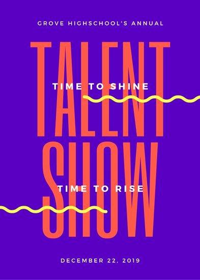 Talent Show Flyer Template Inspirational Customize 68 Talent Show Flyer Templates Online Canva