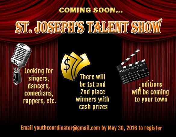 Talent Show Flyer Template Luxury 15 Talent Show Flyer Templates Word Psd Ai Eps Vector