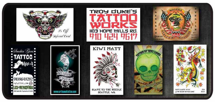 Tattoo Artist Business Cards Awesome Tattoo Shop Promotion & Printing Business Card Stickers Banner and More Printing for Tattoo