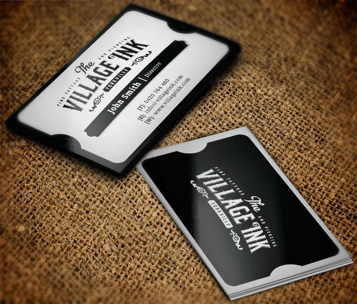 Tattoo Shop Business Cards Best Of Masculine Upmarket Business Business Card Design for A Pany by Mt