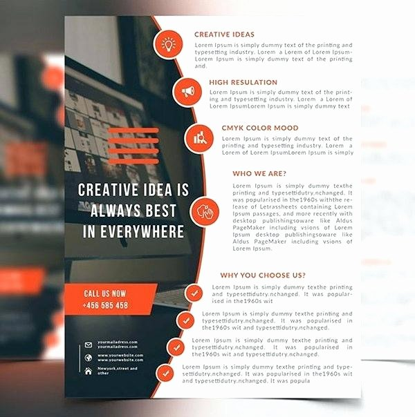 Tear Off Flyer Template Photoshop Luxury Puter solutions Fold Brochure Template Word Publisher software Templates It Flyer Shop