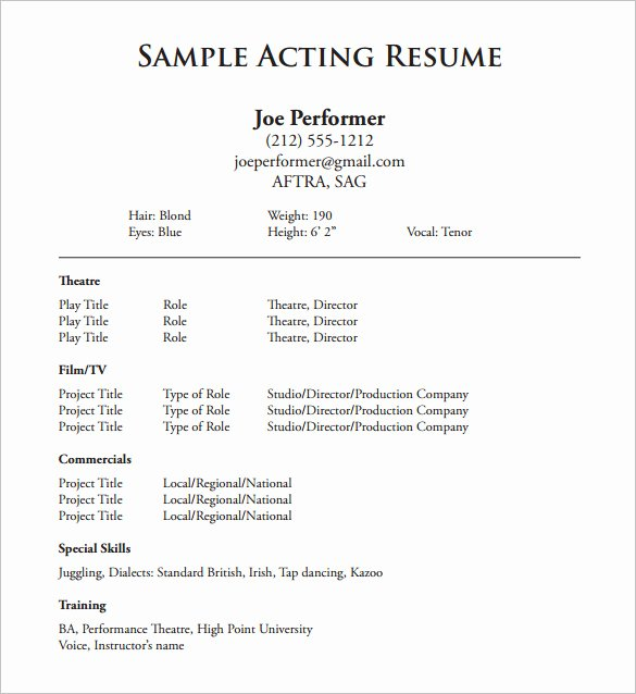 Tech theatre Resume Template Best Of Technical theatre Resume Templates Report52 Web Fc2