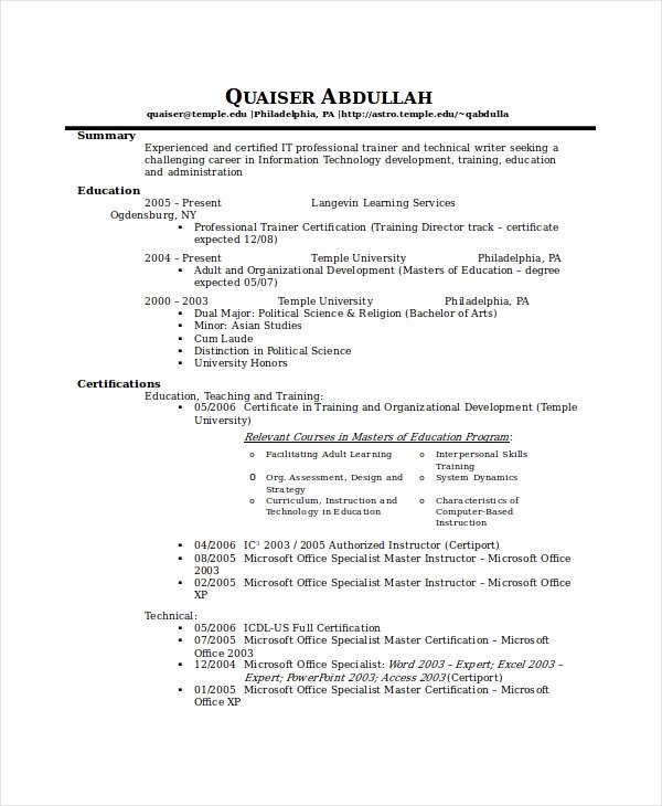 Technical Writer Resume Sample Beautiful 10 Technical Writer Resume Templates Pdf Doc