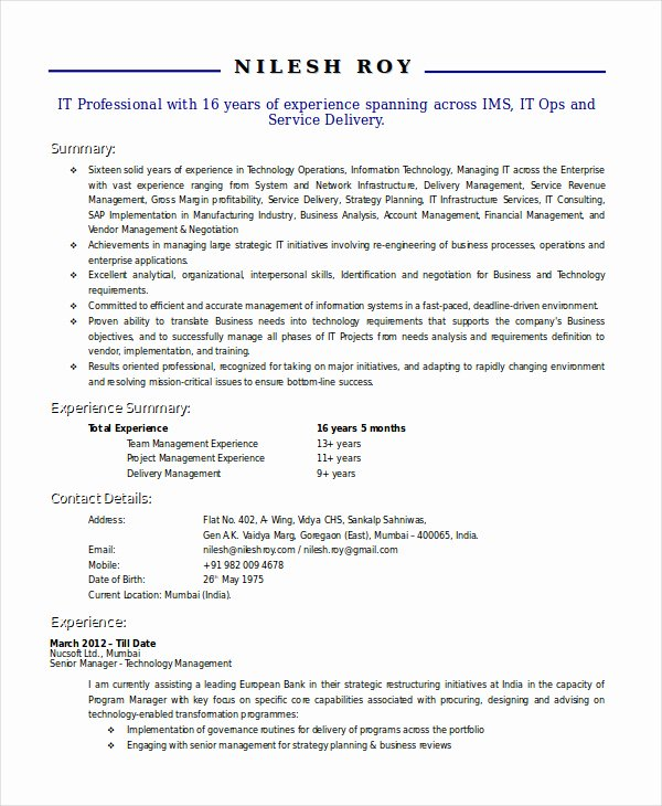 Technical Writer Resume Sample Best Of Using the Technical Resume Template and How to Write E Properly