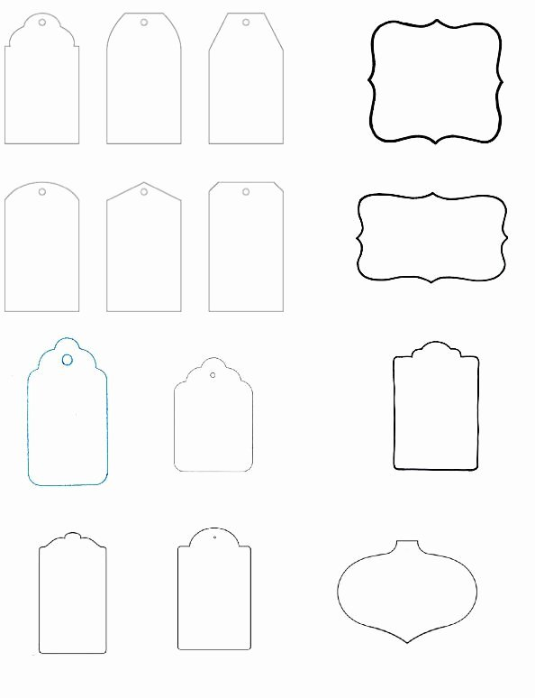 Template for Gift Tags Beautiful Blank T Tag Templates the Art Of Ting Pinterest