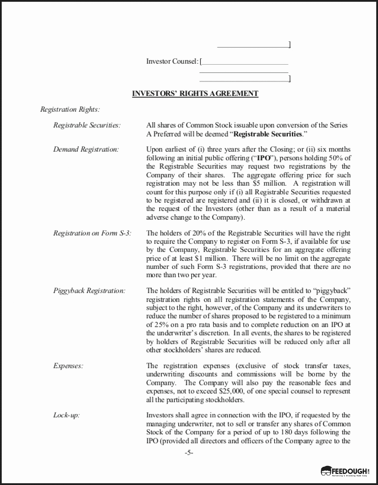 Term Sheet Template Word Beautiful Term Sheet Everything You Need to Know