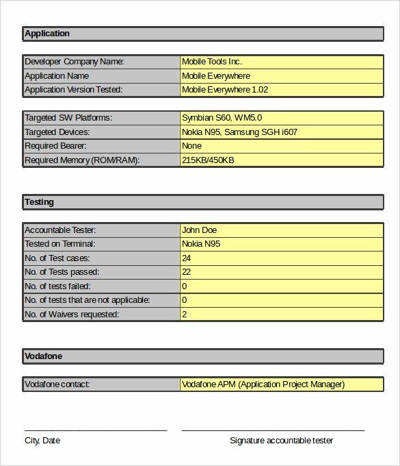 Test Case Template Excel Elegant Uat Testing Template Excel