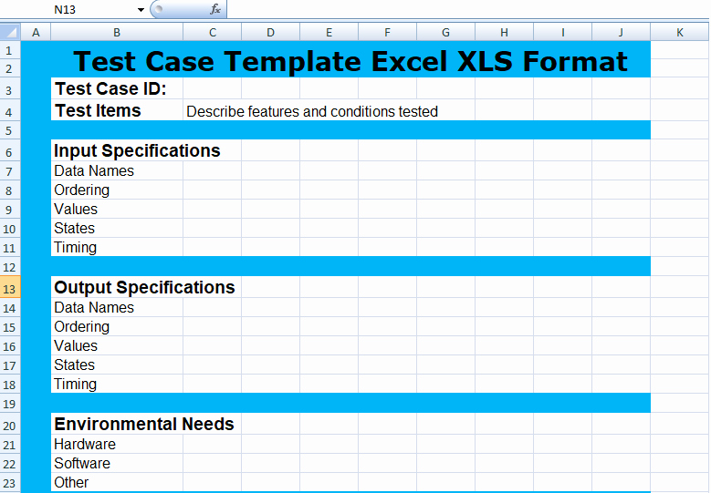 Test Case Template Xls Elegant Project Management Test Case Template Excel Xls Microsoft Project Management Templates