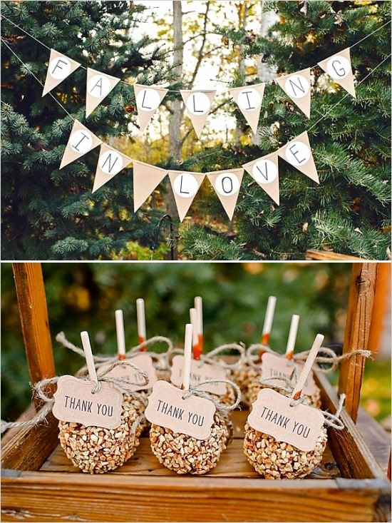 Thank You Banner Ideas Inspirational 25 Best Ideas About Apple Wedding Favors On Pinterest