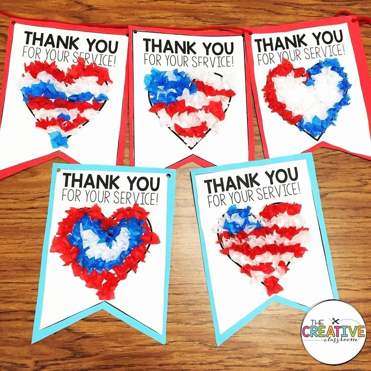 "Thank You Banner Ideas Luxury 12 Simple ""veterans Day Crafts"" Ideas for Kids & Adults"