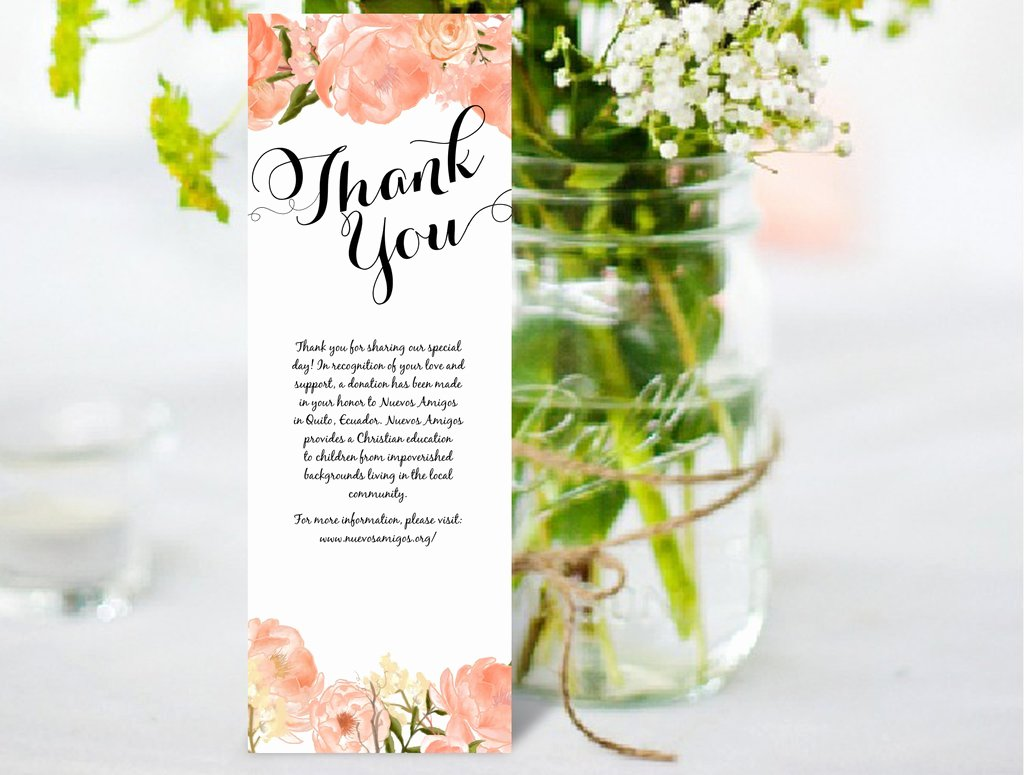 Thank You Card Template Word Best Of Thank You Card Diy Editable Ms Word Template