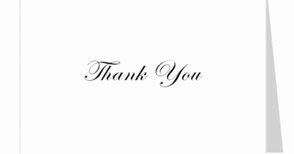 Thank You Card Template Word Elegant Free Thank You Card Template Simple No Background Word Open Fice Patible Insert Your Own