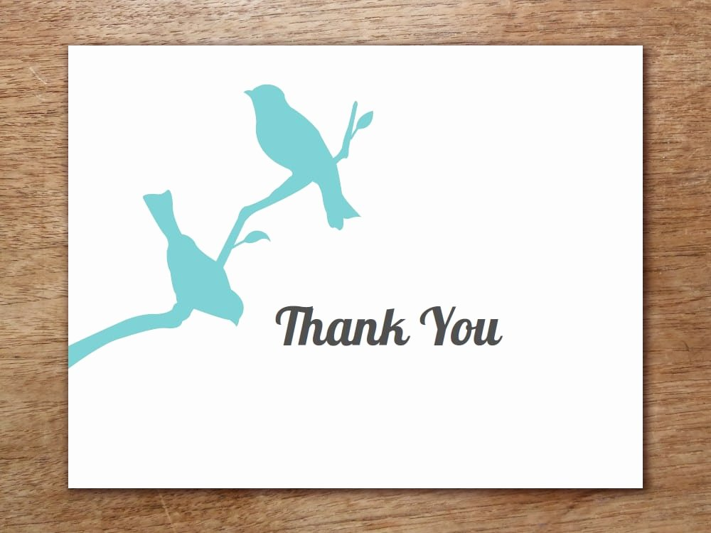 Thank You Card Template Word Inspirational 6 Thank You Card Templates – Fine Word Templates