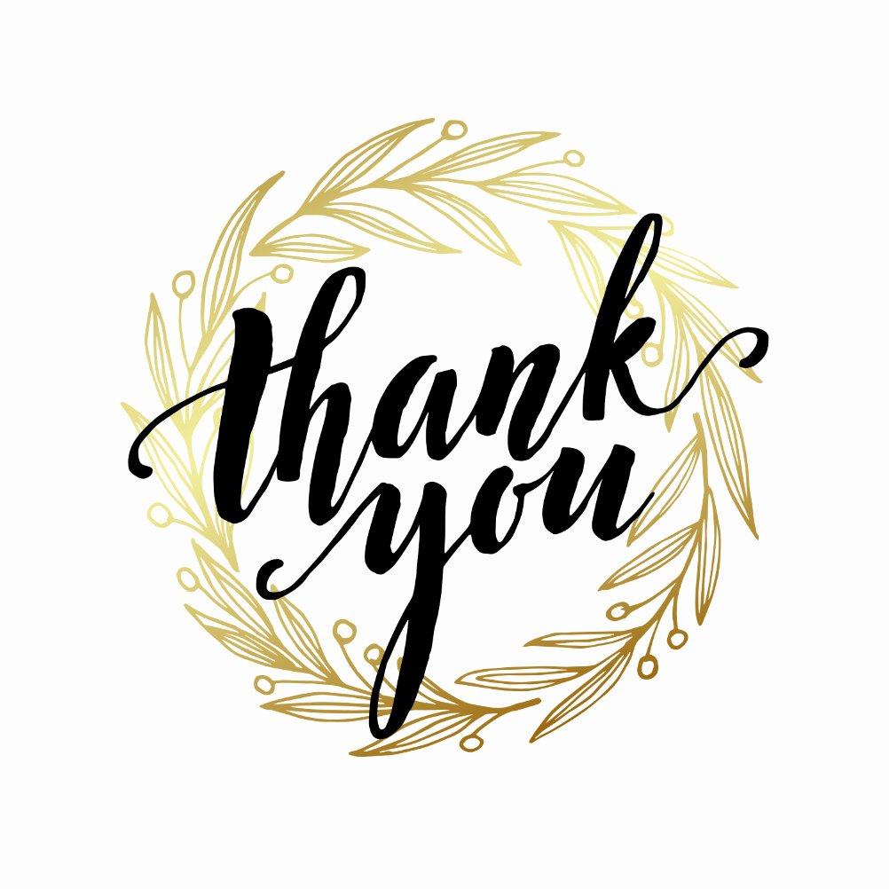 Thank You Card Template Word New A Round Of Thanks Thank You Card Template Free