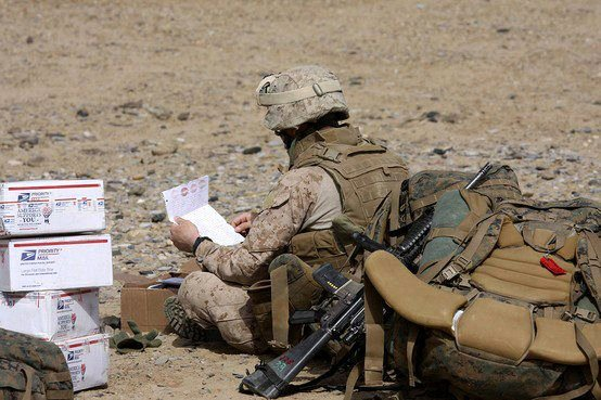 Thank You Letter to soldiers Beautiful sol Rs Angels Letter Writing Team