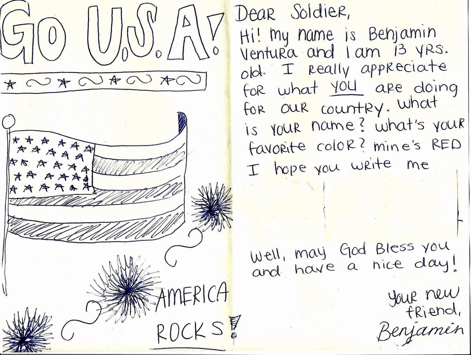 Thank You Letter to soldiers Best Of Laughing Listening Learning A Million Thanks