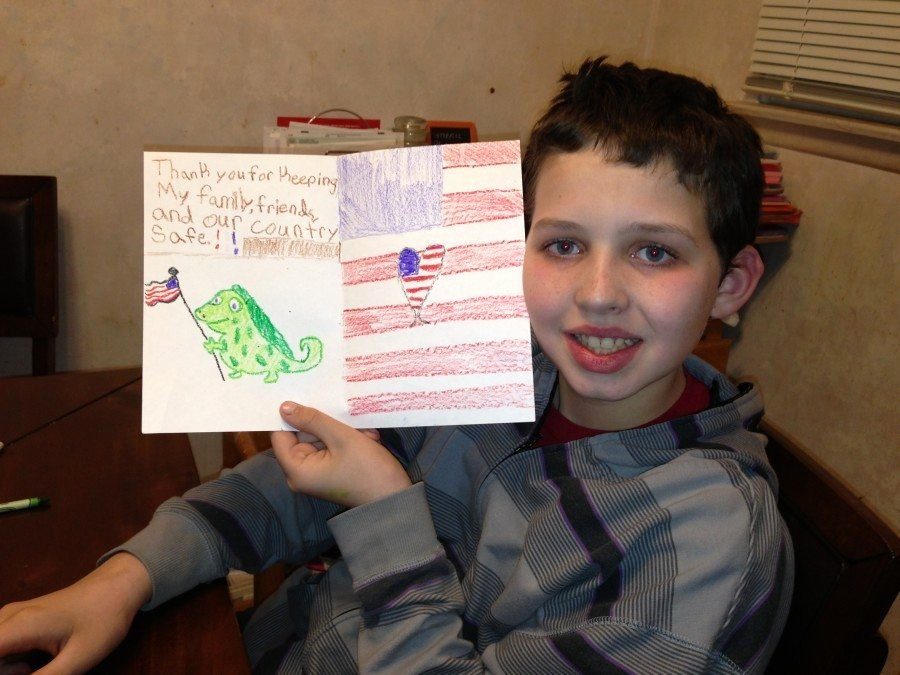 Thank You Letter to soldiers Elegant A Million Thanks to Our sol Rs Make A Difference to Our