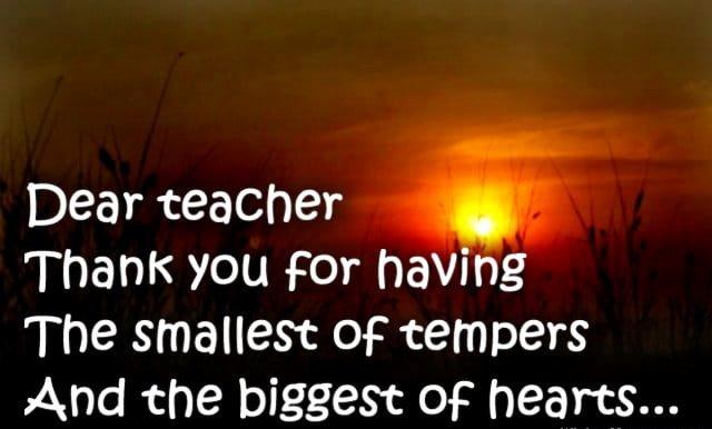 Thank You Note for Teacher Inspirational Thank You Message to A Teacher From A Parent top List Of Teacher Appreciation Notes