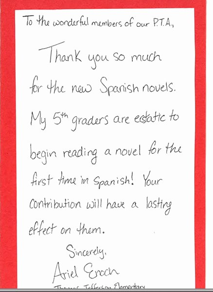 Thank You Note From Teacher Elegant Thank You Note to Preschool Teacher – Emmamcintyrephotography