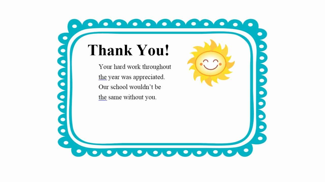Thank You Note to Teacher Best Of forever A Teacher forever A Learner Thank You Notes Freebie