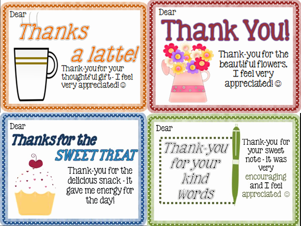 Thank You Note to Teacher Elegant Thank You Notes From Teachers to Students Freebie Joy In the Journey