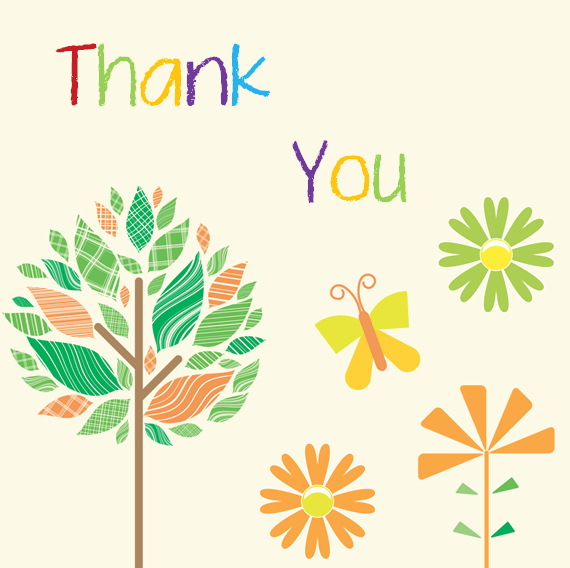 Thank You Postcard Template Awesome Thank You Card Template 6 Beautiful Designs for Word