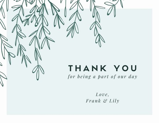 Thank You Postcard Template Lovely Customize 394 Thank You Card Templates Online Canva