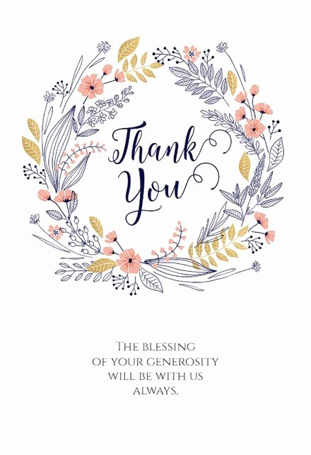 Thank You Postcard Template Luxury Thank You Card Templates Free