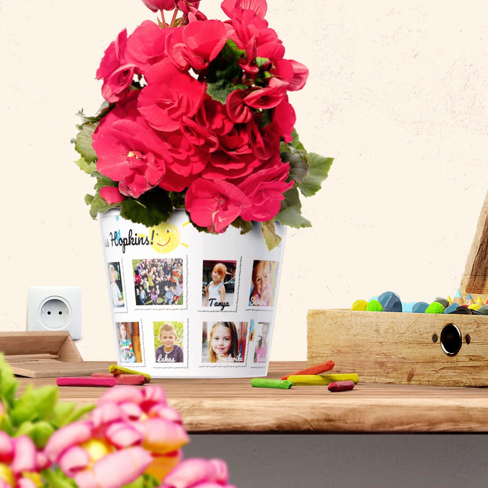 Thank You Preschool Teacher Lovely Thank You Gifts – Teacher Flowerpot with 16 S – Myfacepot