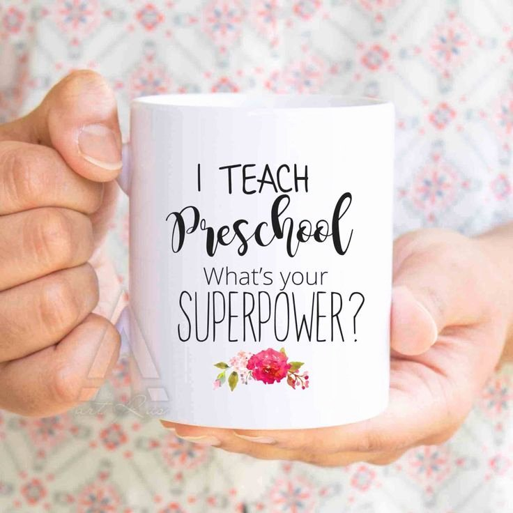 "Thank You Preschool Teacher Unique Preschool Teacher Thank You T ""i Teach Preschool What S Your Superpower "" Teacher Ts"
