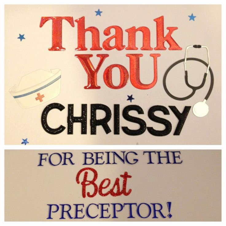 Thank You to Preceptor Lovely 8 Best Images About Preceptor Shirt On Pinterest
