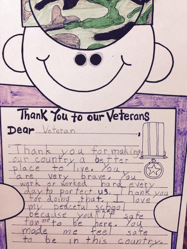 Thank You Veteran Letters Awesome A String Of Pearls