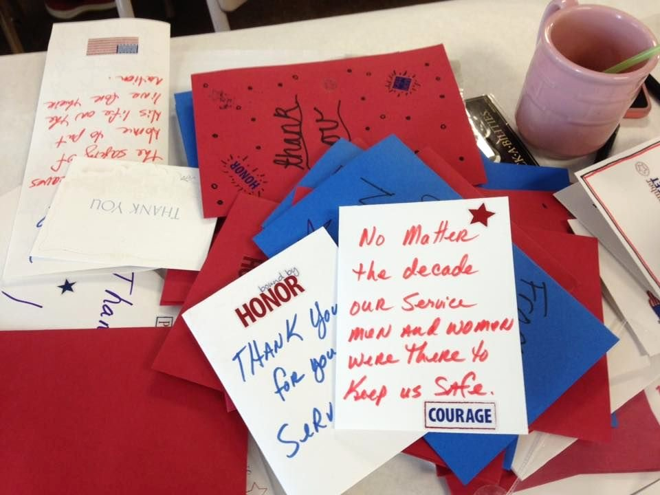 Thank You Veteran Letters Fresh God S Work Our Hands Thank You Letters to Wwii and