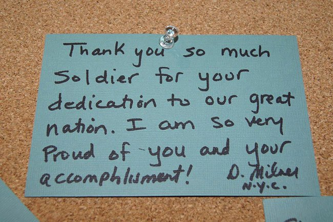 "Thank You Veteran Letters Inspirational 15 Tear Worthy ""thank You"" Notes to sol Rs Written by"
