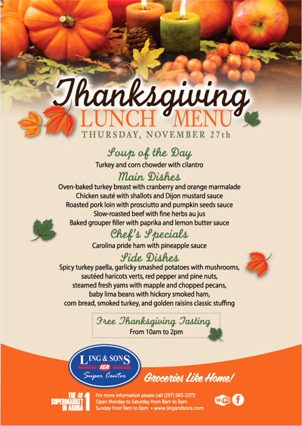 Thanksgiving Dinner Menu Template Beautiful 20 Thanksgiving Campaign Ideas Including Examples and
