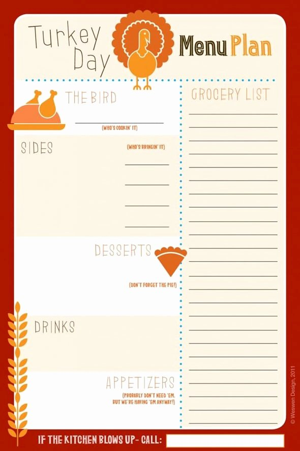 Thanksgiving Dinner Menu Template Best Of Thanksgiving Potluck Signup