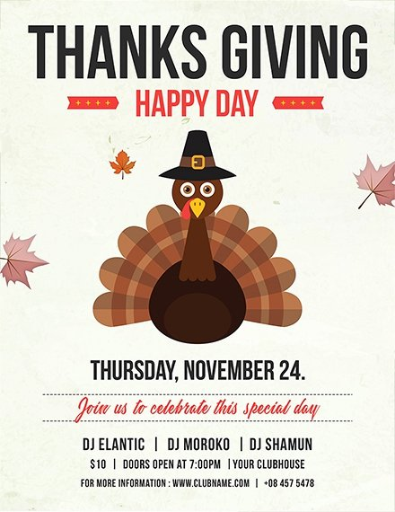 Thanksgiving Flyer Template Free Best Of 27 Thanksgiving Flyer Templates Psd Ai Vector Eps