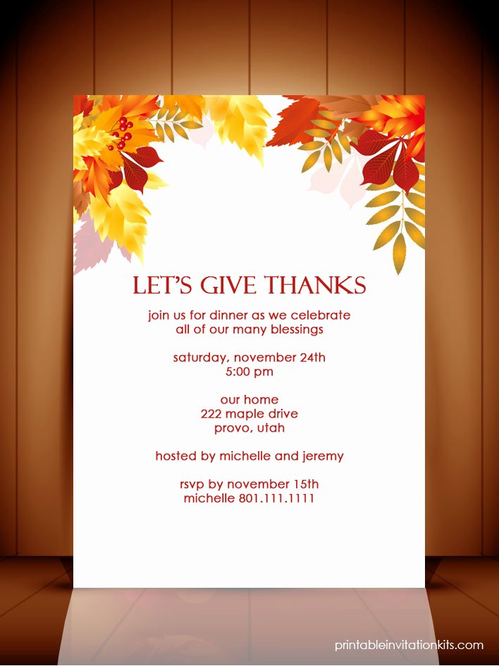 Thanksgiving Flyer Template Free New Give Thanks Thanksgiving Template – Festival Collections