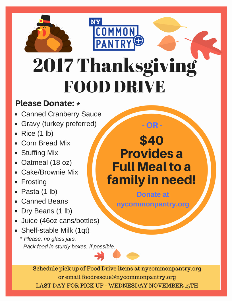 Thanksgiving Food Drive Flyer Best Of Png for Website 2017 Thanksgiving Food Drive Flyer New York Mon Pantry