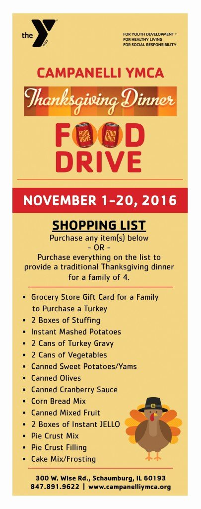 Thanksgiving Food Drive Flyer Best Of Thanksgiving Dinner Food Drive