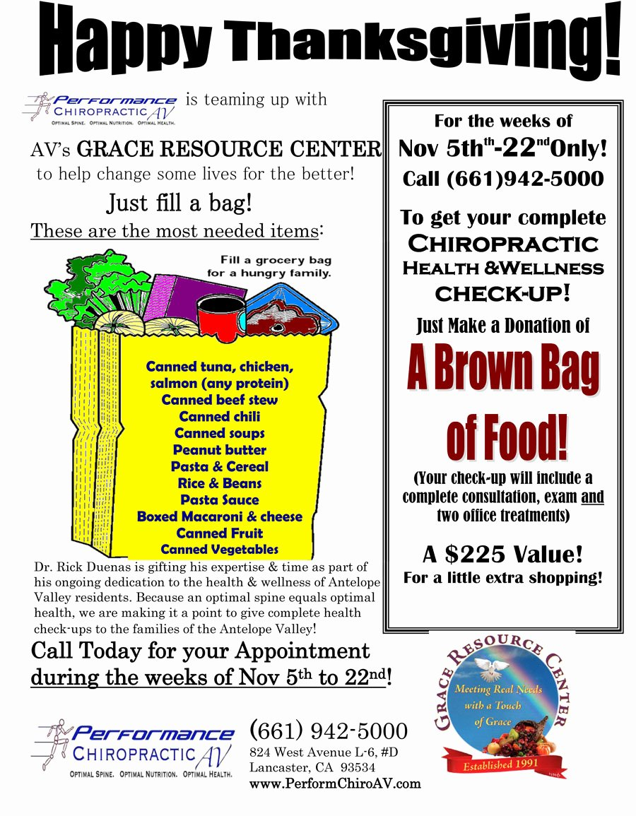 Thanksgiving Food Drive Flyer Lovely Thanksgiving Food Drive
