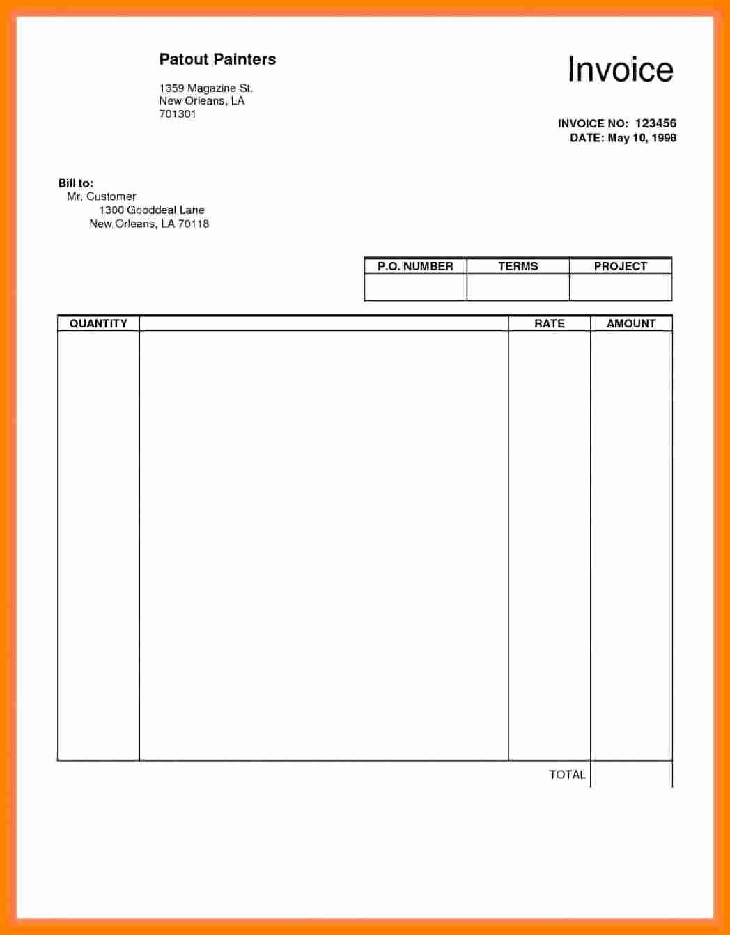 Theatre Resume Template Google Docs Best Of 5 Actors Invoice Template