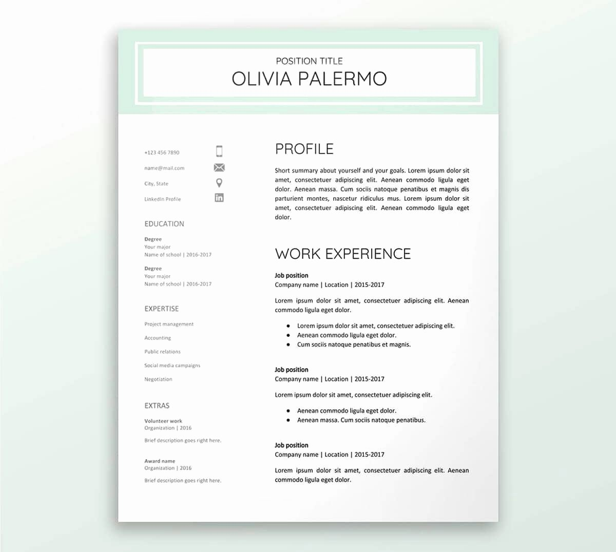 Theatre Resume Template Google Docs Elegant Google Docs Resume Templates 10 Free formats to Download 2019