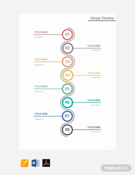 Timeline Templates for Mac Lovely Free Medical Timeline Template Download 166 Charts In Word Pdf Apple Pages Excel Numbers