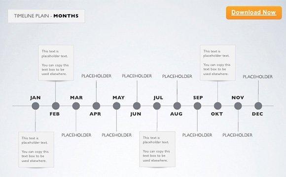 Timeline Templates for Mac Luxury 9 Sample Keynote Timelines